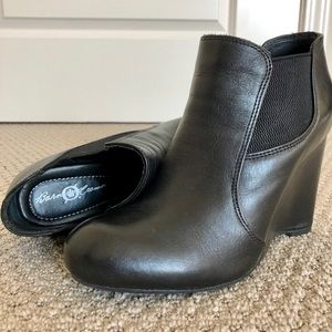 Born Leather Ankle Boots